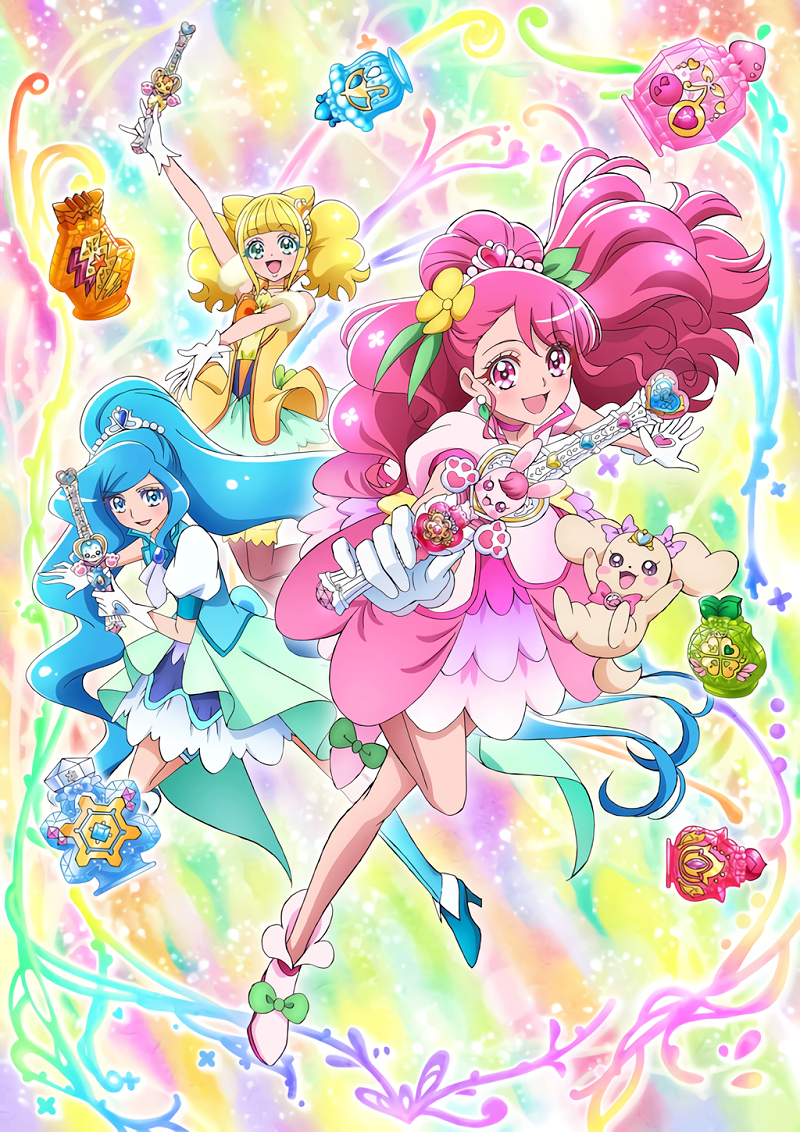 Eiga Healin' Good Precure: Film visual 1