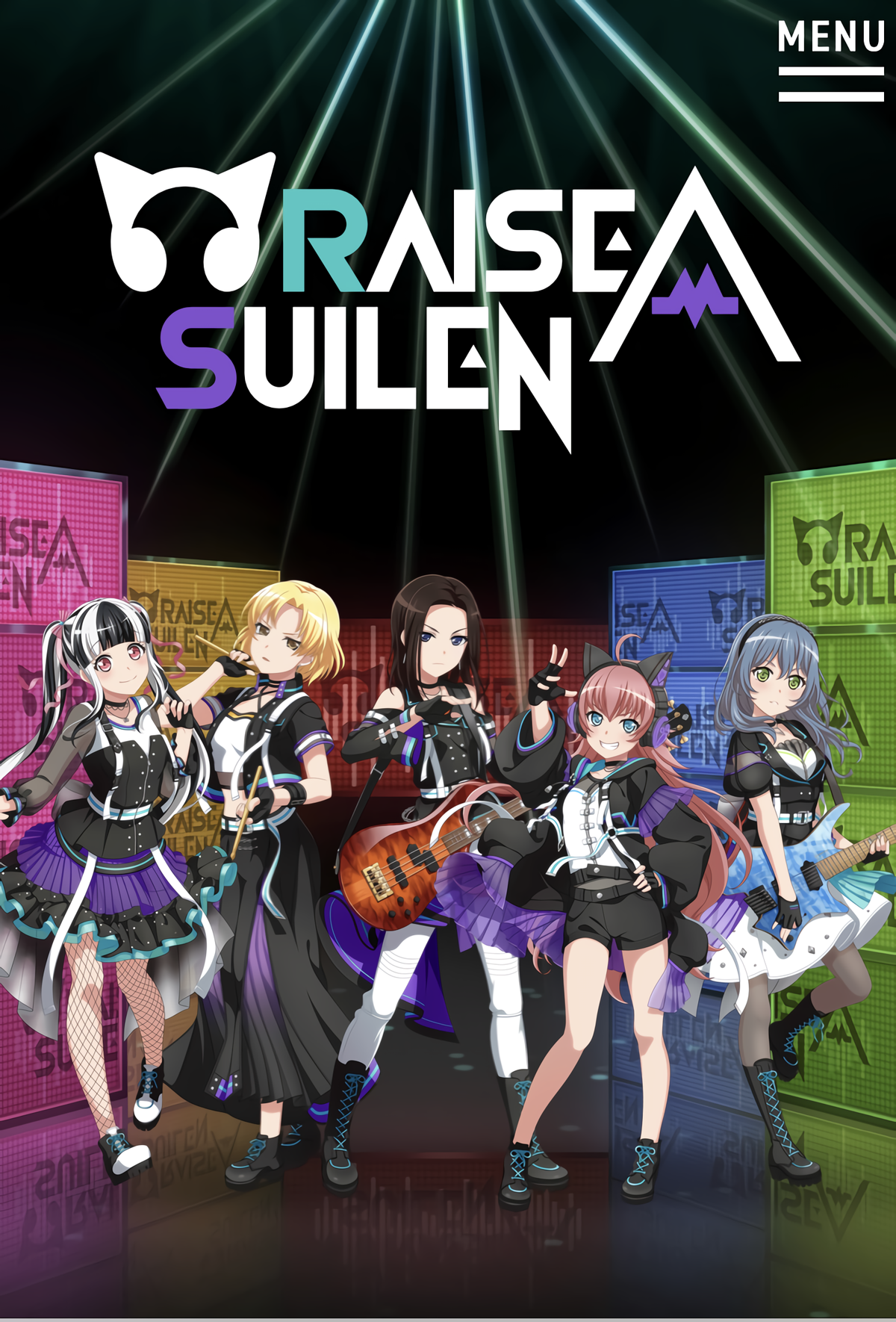 BanG Dream!: Raise A Suilen
