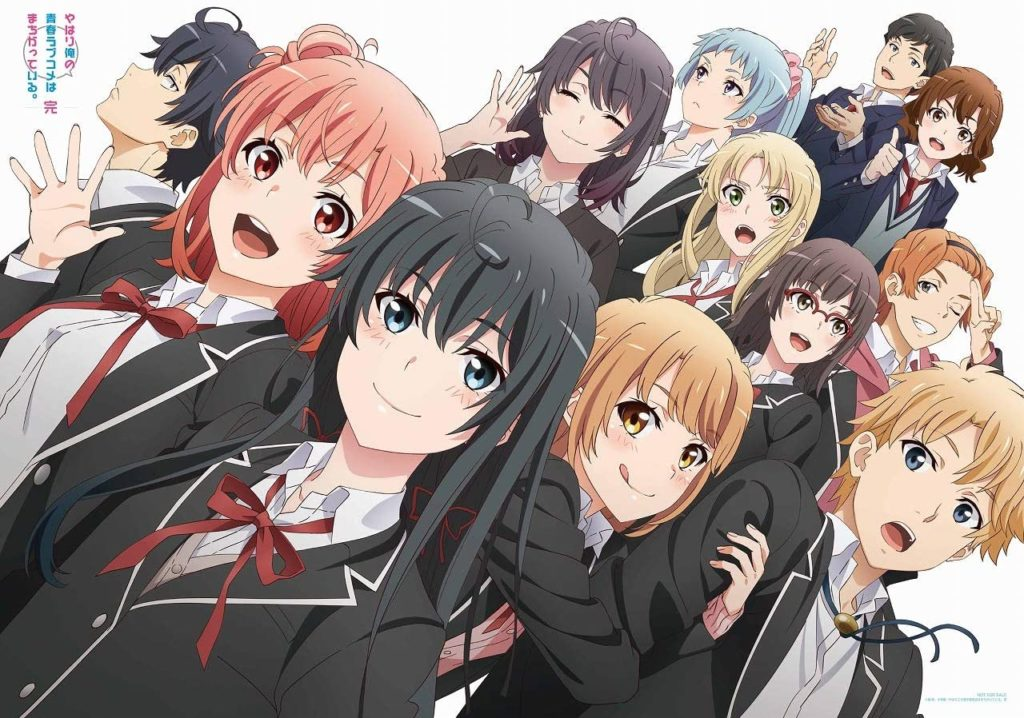Oregairu: Portada CD musical