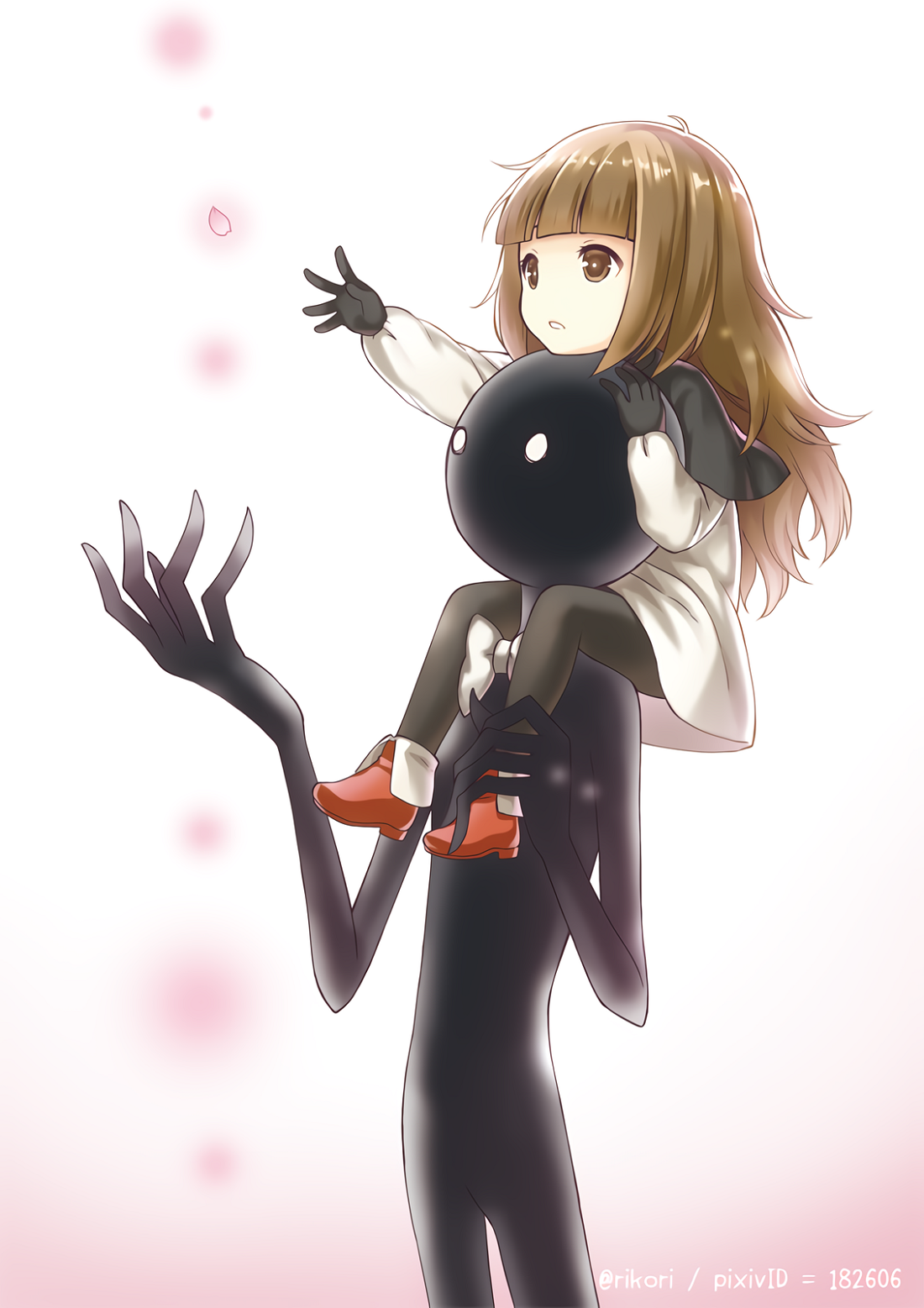 Deemo The Movie: Black and white