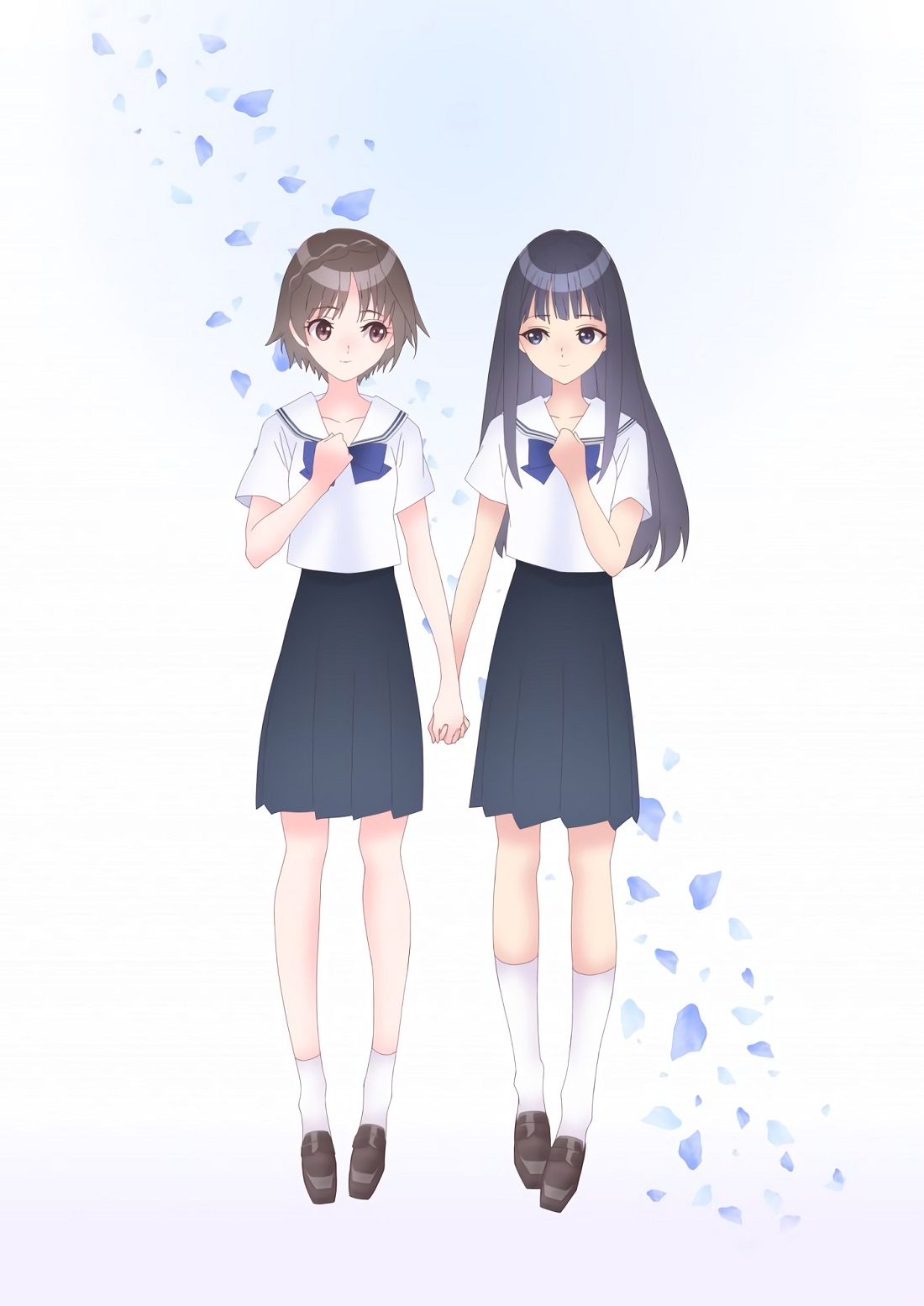 Blue Reflection: Two blue